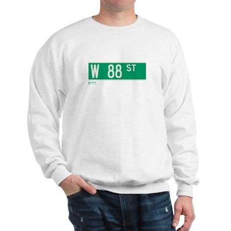 88th Street in NY Sweatshirt