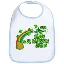 Happy St. Patrick's Day Classic Bib