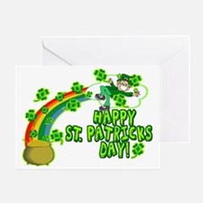 Happy St. Patrick's Day Classic Greeting Card