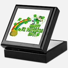 Happy St. Patrick's Day Classic Keepsake Box