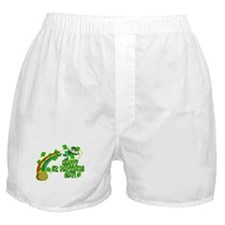 Happy St. Patrick's Day Classic Boxer Shorts