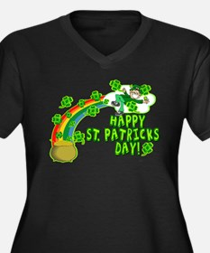 Happy St. Patrick's Day Classic Women's Plus Size