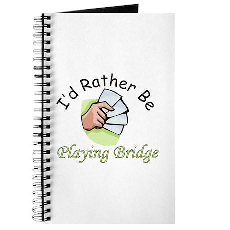 Playing Bridge Journal