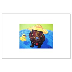 Pool Pup Spaniel Posters