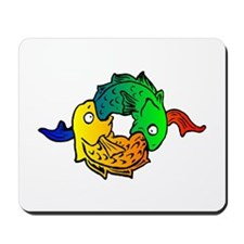 Fishes Mousepad