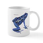Blue Poison Frog Mug