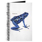 Blue Poison Frog Journal