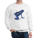Blue Poison Frog (Front) Sweatshirt