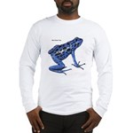 Blue Poison Frog Long Sleeve T-Shirt