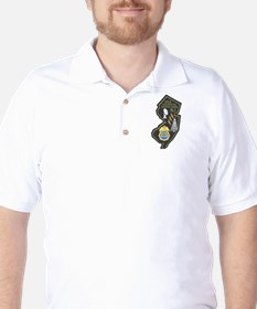 DEA NJ Techops Golf Shirt