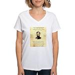 Reward Clay Allison Women's V-Neck T-Shirt