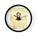 Reward Clay Allison Wall Clock