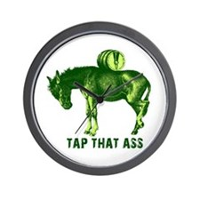 Tap That Ass Funny Beer Humor Wall Clock