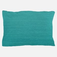 Brushed Teal Pillow Case