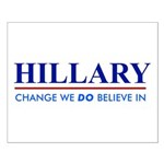Hillary Clinton - Change we DO Believe! Small Post