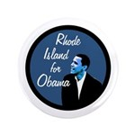 Big Rhode Island for Obama Button