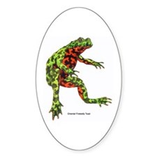 Firebelly Toad Oval Decal