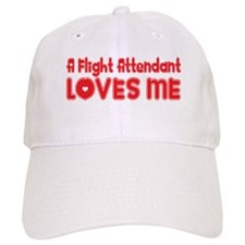 A Flight Attendant Loves Me Baseball Cap