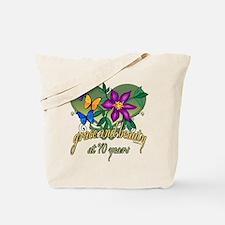 Beautiful 70th Tote Bag