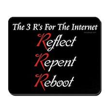 Internet's 3 R's Mousepad