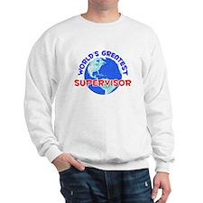 World's Greatest Super.. (E) Sweatshirt