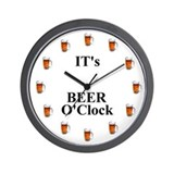 Beer clock Wall Clocks