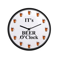 "Its Beer O'Clock 3.5"" Button (100 pack)"