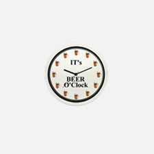 Its Beer O'Clock Mini Button