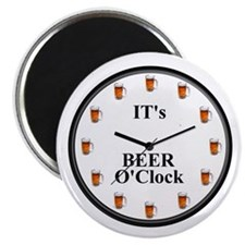 Its Beer O'Clock Magnet