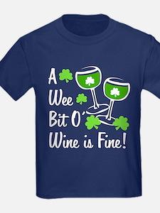 Wee Bit O' Wine T