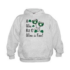 Wee Bit O' Wine Hoodie