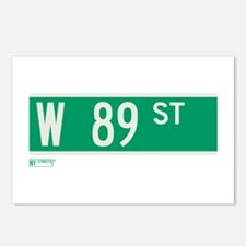 89th Street in NY Postcards (Package of 8)