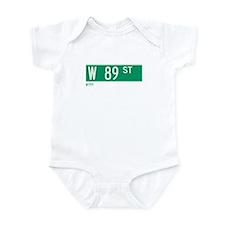 89th Street in NY Infant Bodysuit