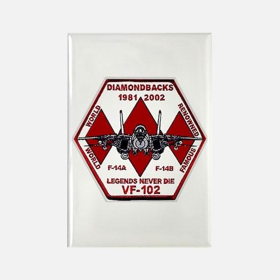 VF 102 Diamondbacks Commemorative Rectangle Magnet
