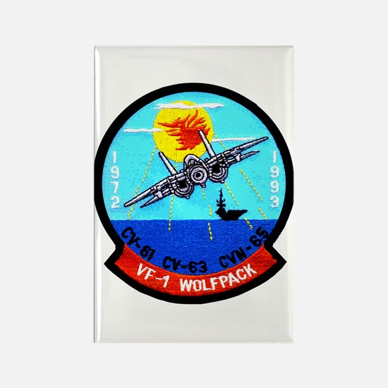 VF 1 Wolfpack commemorative patch Rectangle Magnet