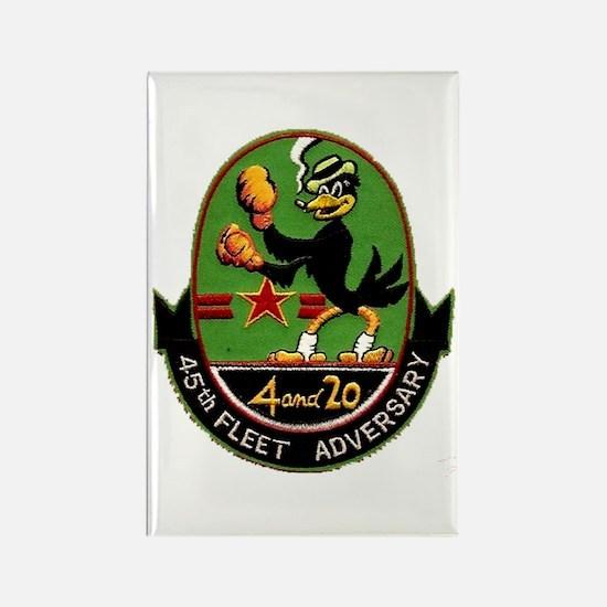 45th Fleet Adversary Squadron Rectangle Magnet