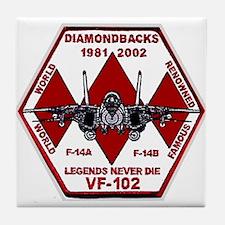 VF 102 Diamondbacks Commemorative Tile Coaster