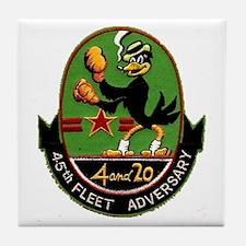 45th Fleet Adversary Squadron Tile Coaster