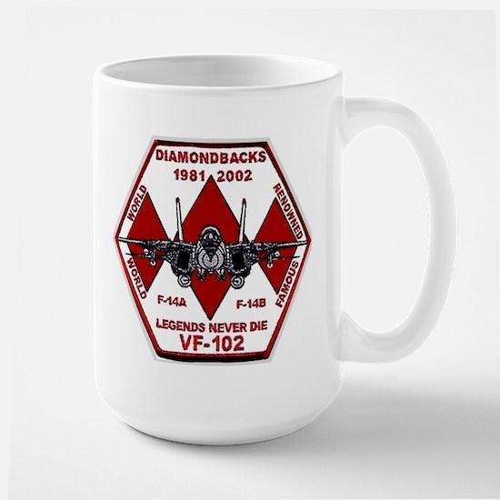 VF 102 Diamondbacks Commemorative Large Mug