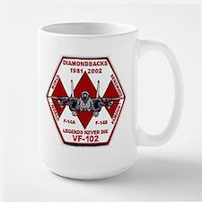VF 102 Diamondbacks Commemorative Mug
