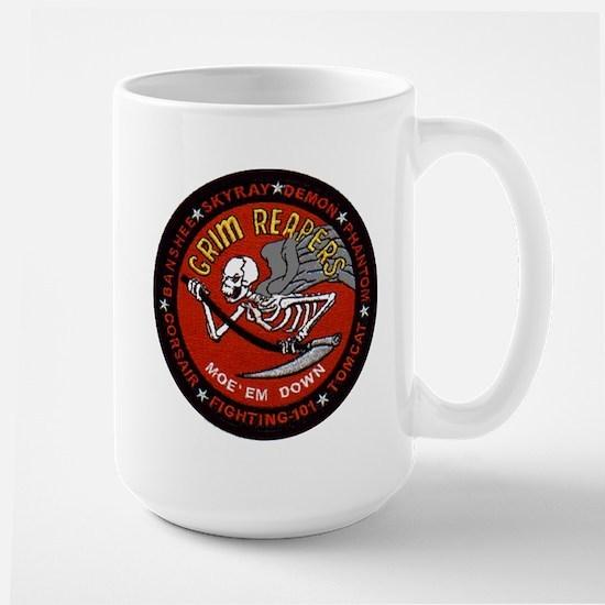 VF 101 Grim Reapers Large Mug