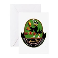 45th Fleet Adversary Greeting Cards (Pk of 10)