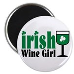 Irish Wine Girl Magnet