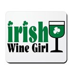 Irish Wine Girl Mousepad