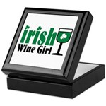Irish Wine Girl Keepsake Box