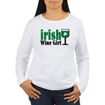 Irish Wine Girl Women's Long Sleeve T-Shirt