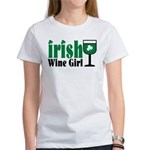 Irish Wine Girl Women's T-Shirt