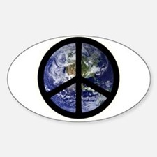 Peace on Earth Oval Bumper Stickers