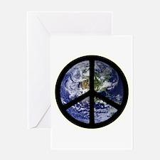 Peace on Earth Greeting Card