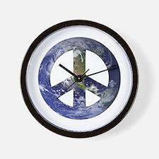 Peace on Earth design Wall Clock